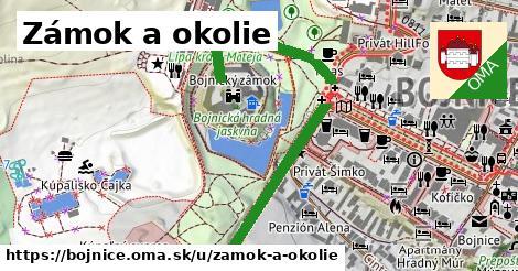 Zámok a okolie, Bojnice