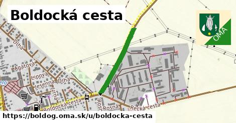 ilustrácia k Boldocká cesta, Boldog - 299m