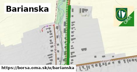 ilustrácia k Barianska, Borša - 335m