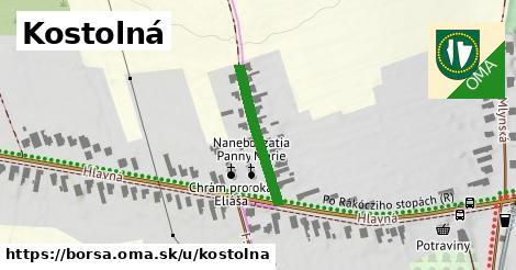 ilustrácia k Kostolná, Borša - 215m