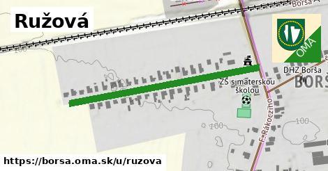 ilustrácia k Ružová, Borša - 442m