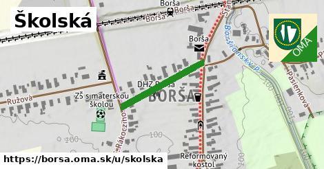ilustračný obrázok k Školská, Borša