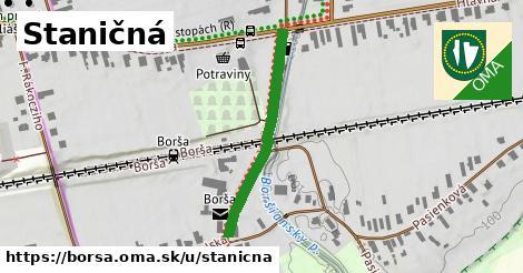 ilustrácia k Staničná, Borša - 306m