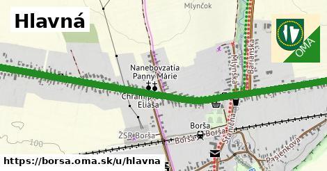 ilustrácia k Hlavná, Borša - 1,73km