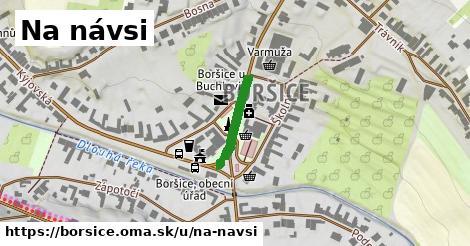 ilustrácia k Na návsi, Boršice - 155m