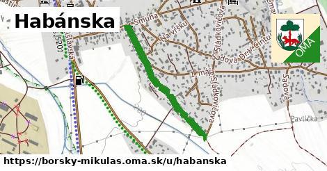 ilustrácia k Habánska, Borský Mikuláš - 0,96km