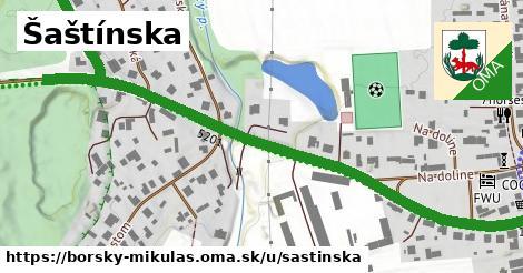 ilustrácia k Šaštínska, Borský Mikuláš - 0,70km