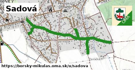 ilustrácia k Sadová, Borský Mikuláš - 1,41km
