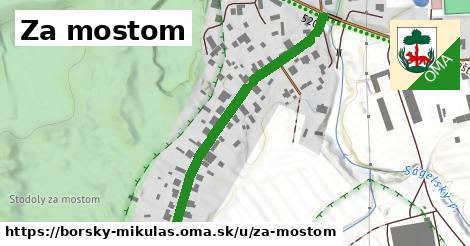 ilustrácia k Za mostom, Borský Mikuláš - 484m