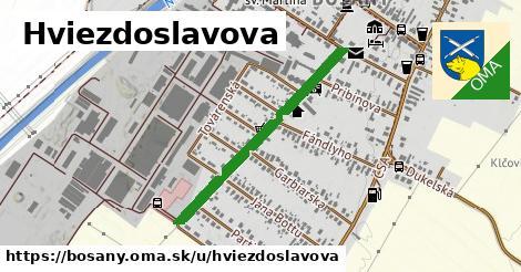 ilustrácia k Hviezdoslavova, Bošany - 689m