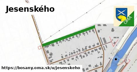 ilustrácia k Jesenského, Bošany - 303m