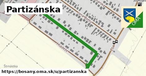 ilustrácia k Partizánska, Bošany - 477m
