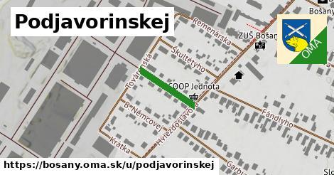 ilustrácia k Podjavorinskej, Bošany - 145m
