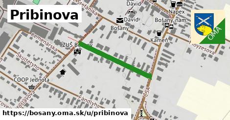 ilustrácia k Pribinova, Bošany - 258m