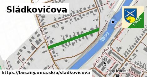 ilustrácia k Sládkovičova, Bošany - 272m