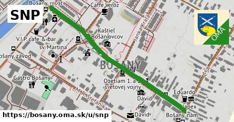 ilustrácia k SNP, Bošany - 544m