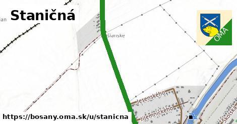 ilustrácia k Staničná, Bošany - 1,11km