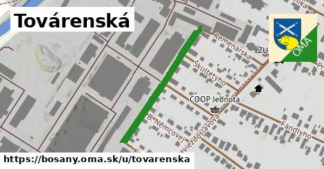 ilustrácia k Továrenská, Bošany - 318m