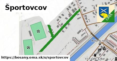 ilustrácia k Športovcov, Bošany - 453m