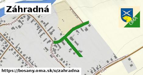 ilustrácia k Záhradná, Bošany - 217m