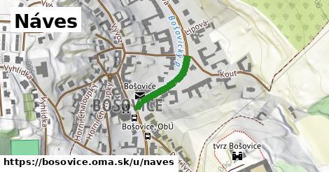 ilustrácia k Náves, Bošovice - 173m