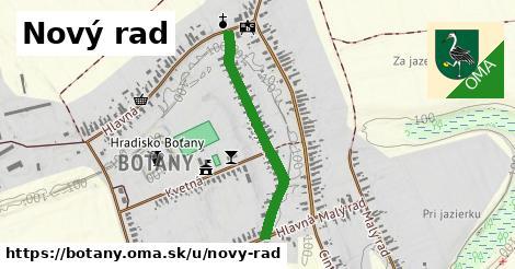ilustrácia k Nový rad, Boťany - 649m