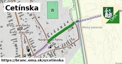 ilustrácia k Cetínska, Branč - 304m