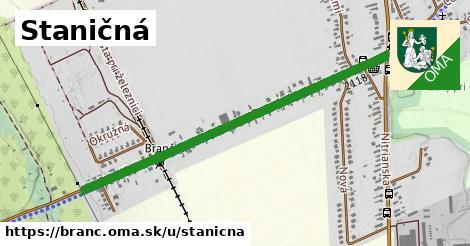 ilustrácia k Staničná, Branč - 1,07km