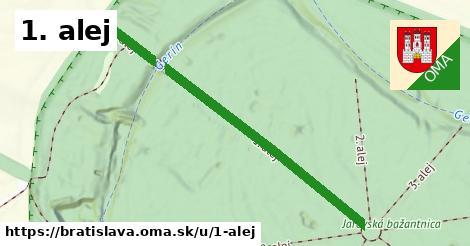 ilustrácia k 1. alej, Bratislava - 552m