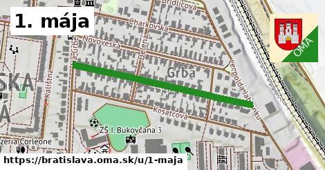 ilustračný obrázok k 1. mája, Bratislava