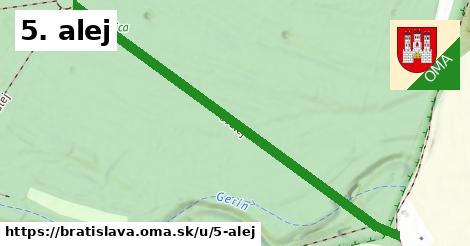 ilustrácia k 5. alej, Bratislava - 624m