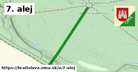 ilustrácia k 7. alej, Bratislava - 394m