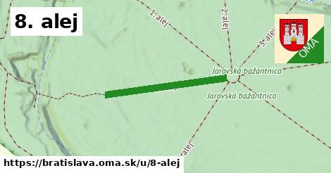 ilustrácia k 8. alej, Bratislava - 455m