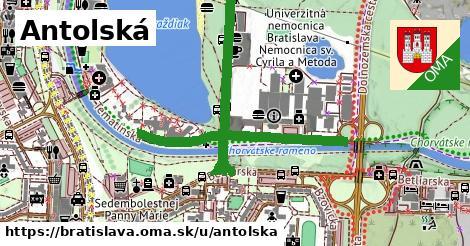 ilustrácia k Antolská, Bratislava - 1,86km