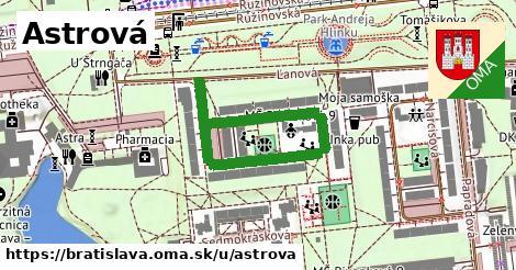 ilustračný obrázok k Astrová, Bratislava