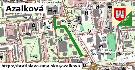 ilustrácia k Azalková, Bratislava - 301m