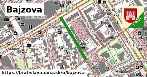 ilustrácia k Bajzova, Bratislava - 254m