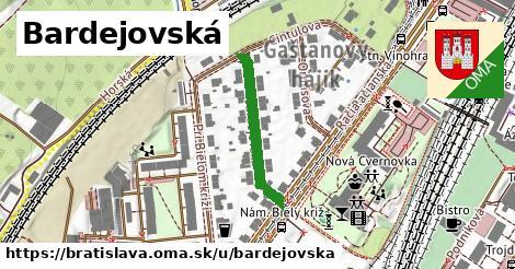 ilustrácia k Bardejovská, Bratislava - 240m
