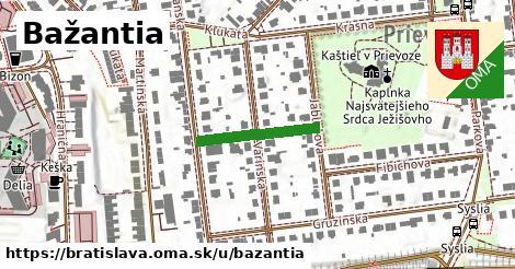 ilustrácia k Bažantia, Bratislava - 180m