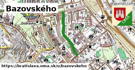 ilustrácia k Bazovského, Bratislava - 538m
