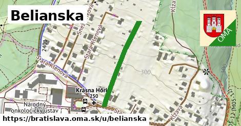 ilustrácia k Belianska, Bratislava - 282m