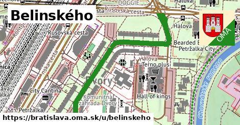 ilustračný obrázok k Belinského, Bratislava