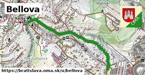 ilustračný obrázok k Bellova, Bratislava