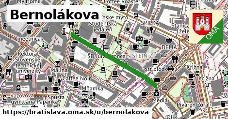 ilustrácia k Bernolákova, Bratislava - 331m