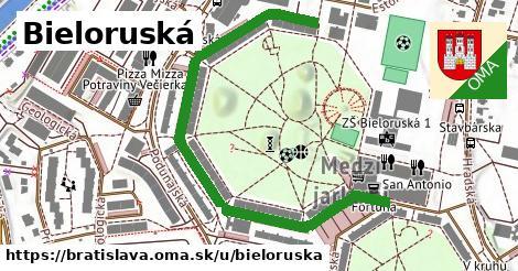 ilustrácia k Bieloruská, Bratislava - 690m