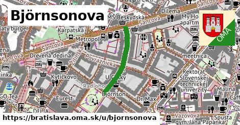 ilustračný obrázok k Björnsonova, Bratislava