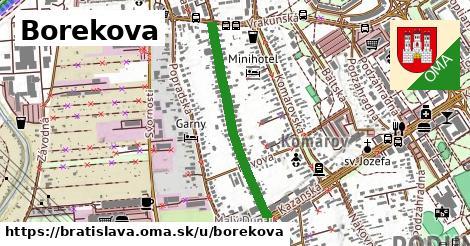 ilustrácia k Borekova, Bratislava - 654m