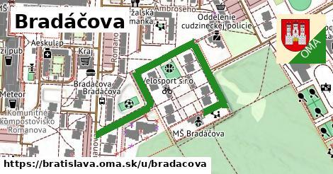 ilustračný obrázok k Bradáčova, Bratislava