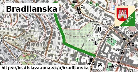 ilustračný obrázok k Bradlianska, Bratislava