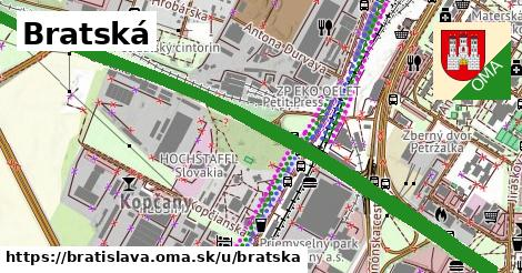 ilustrácia k Bratská, Bratislava - 3,1km